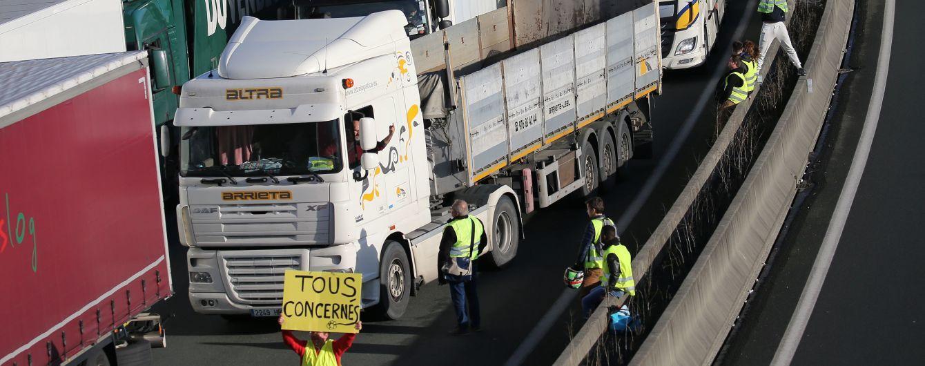 В Бельгии задержан водитель грузовика, сбившего насмерть участника акции «жёлтых жилетов»