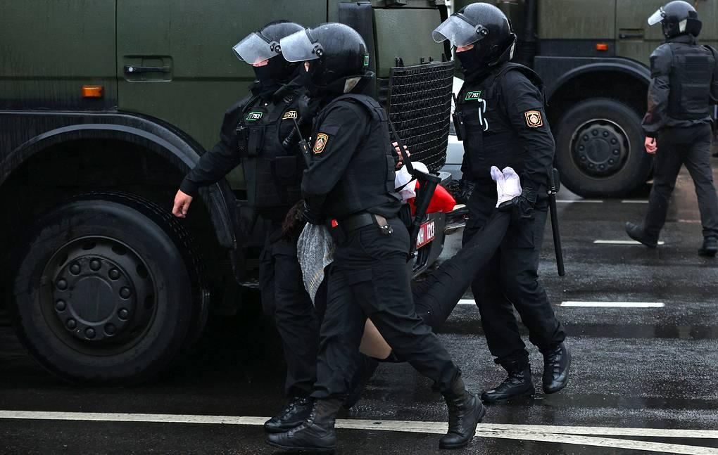 В Белоруссии 17 октября задержали 58 человек за участие в массовых протестах