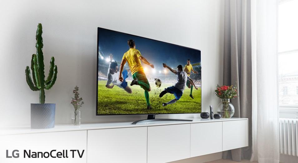 Увидеть главные спортивные события, не выходя из дома, с телевизорами и саундбарами LG Electronics