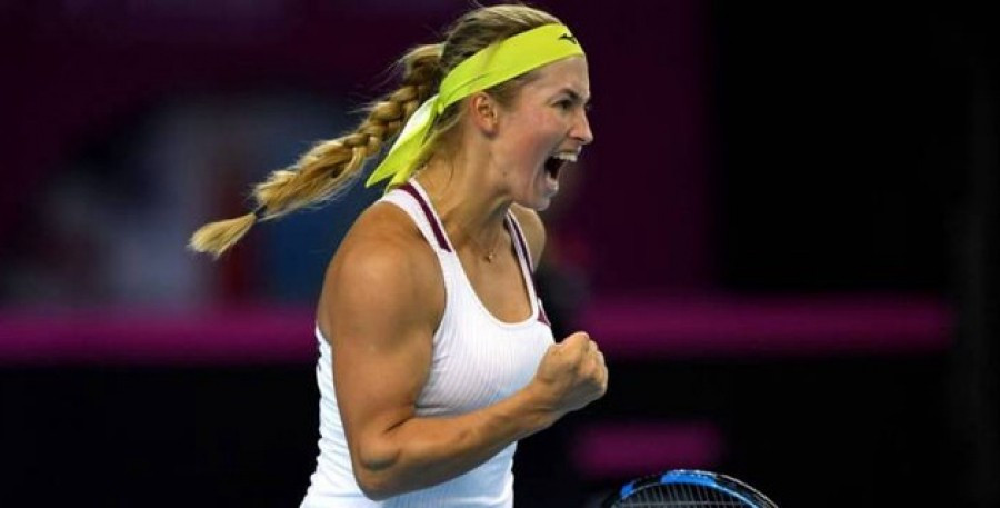 Юлия Путинцева вышла в третий круг турнира WTA
