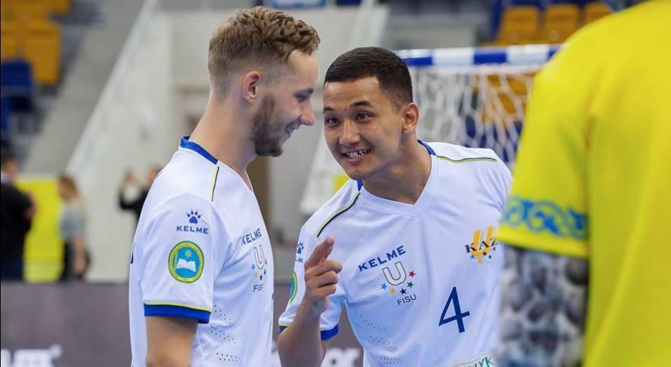 Казахстан впервые стал призёром ЧМ по футзалу среди студентов