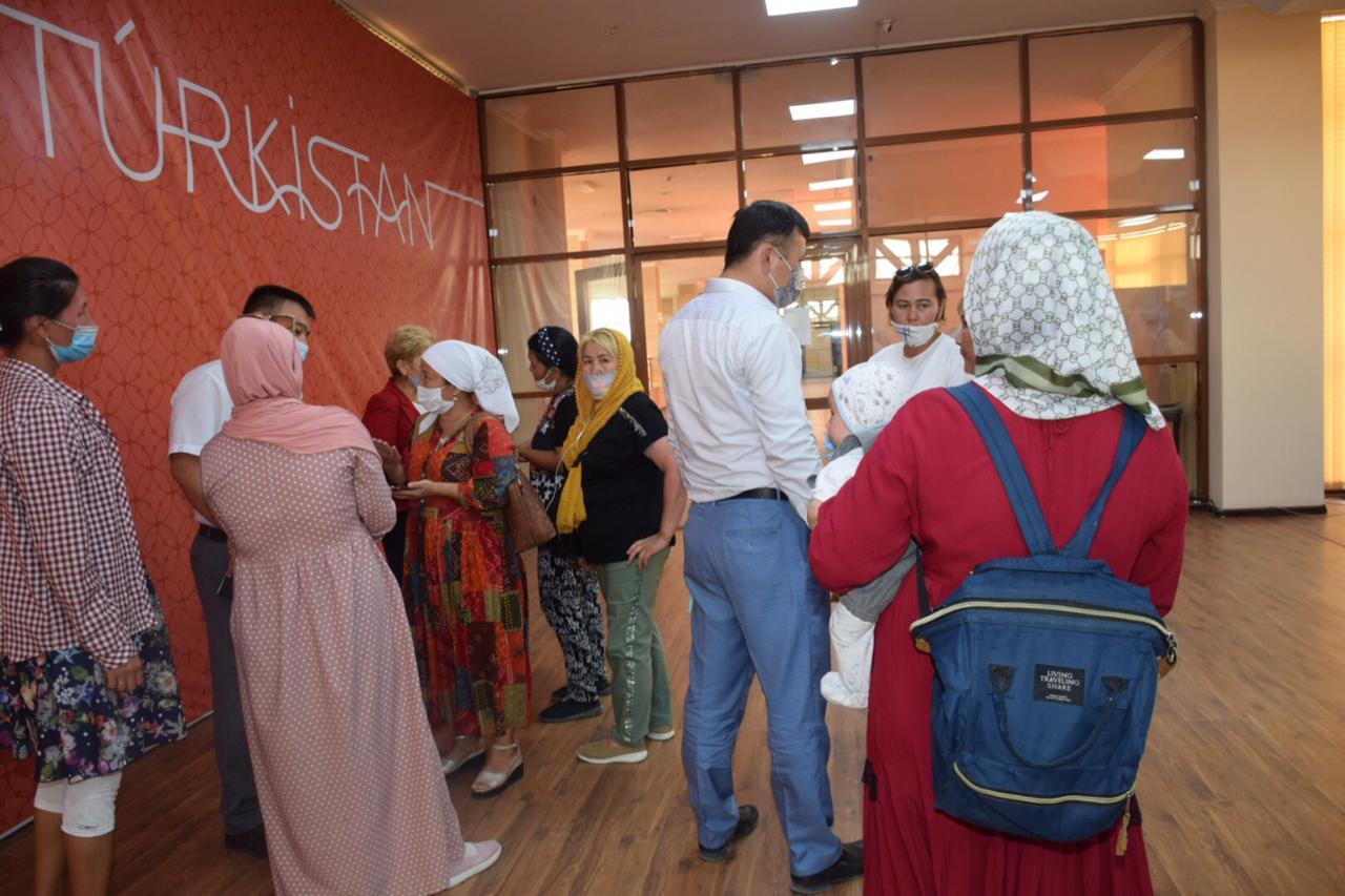 Информация о митингах в Туркестане не подтвердилась