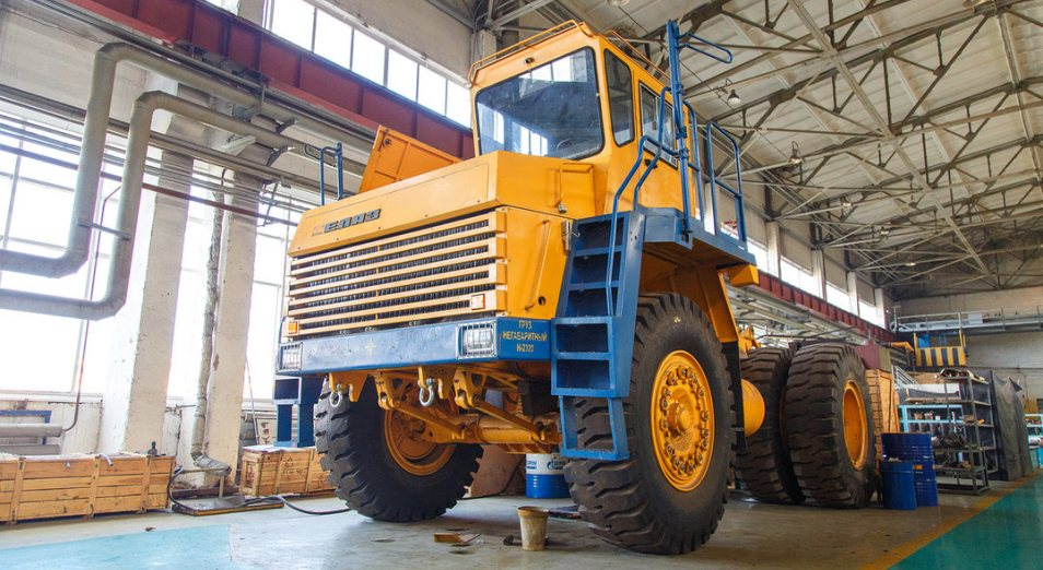 «КазБелАЗ» совершенствует сервис, КазБелАЗ, БелАЗ-7547, самосвалы, Казахмыс, карьерная техника, КЛМЗ