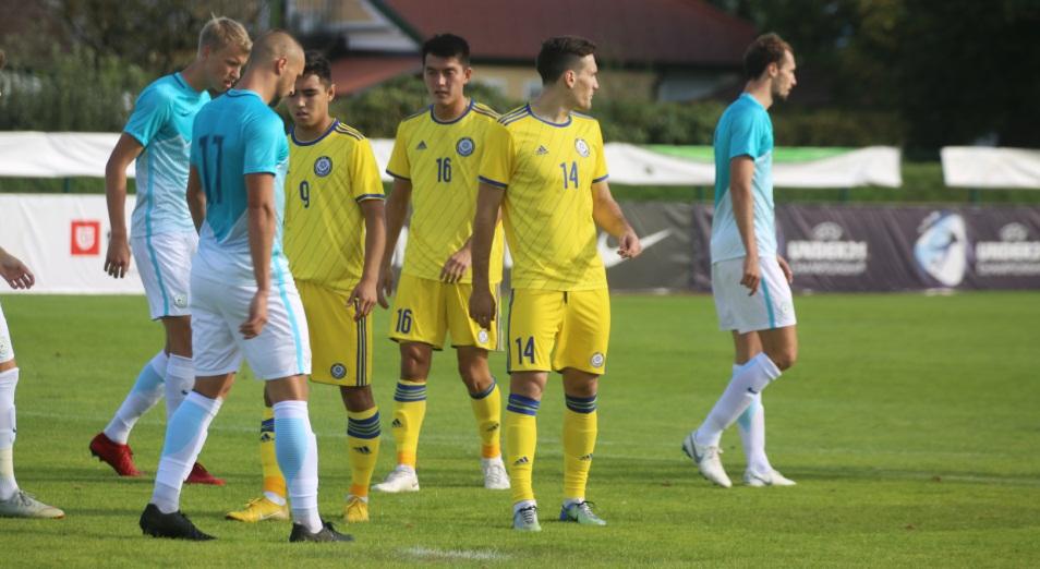 Евро-2019: мимо Италии транзитом через Словению, Футбол, Евро-2019, Спорт, молодежная сборная Казахстана по футболу