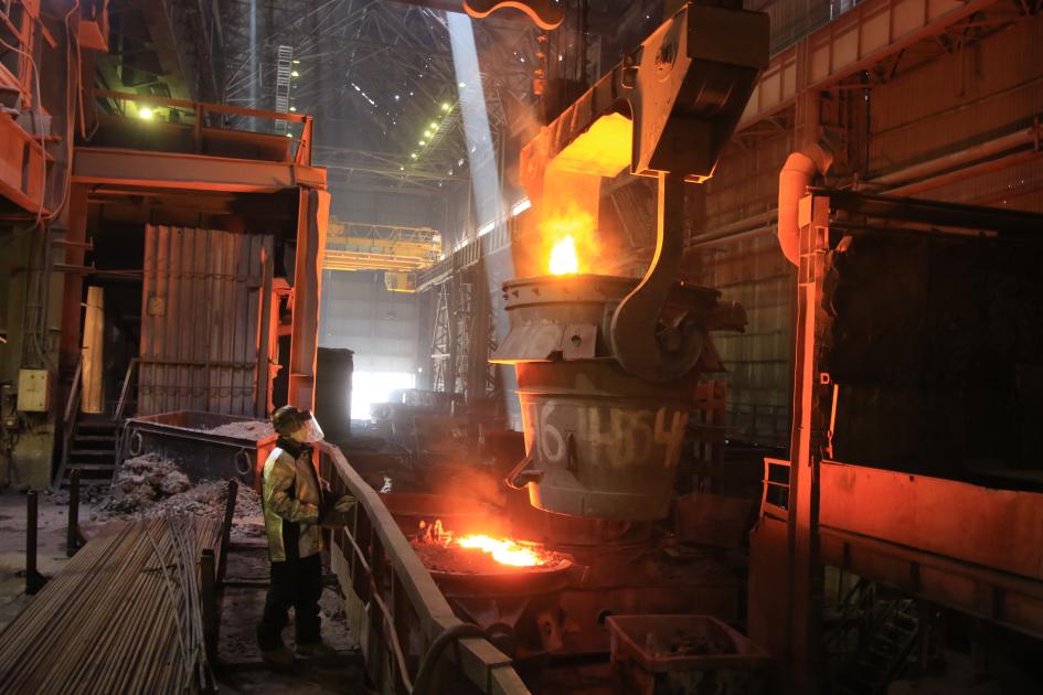 Аксуский завод увеличит площадь цеха, инвестирует в это свыше 3 млрд тенге, Аксуский завод ферросплавов, Казхром, ERG, Завод, производство , инвестиции, Индустрия
