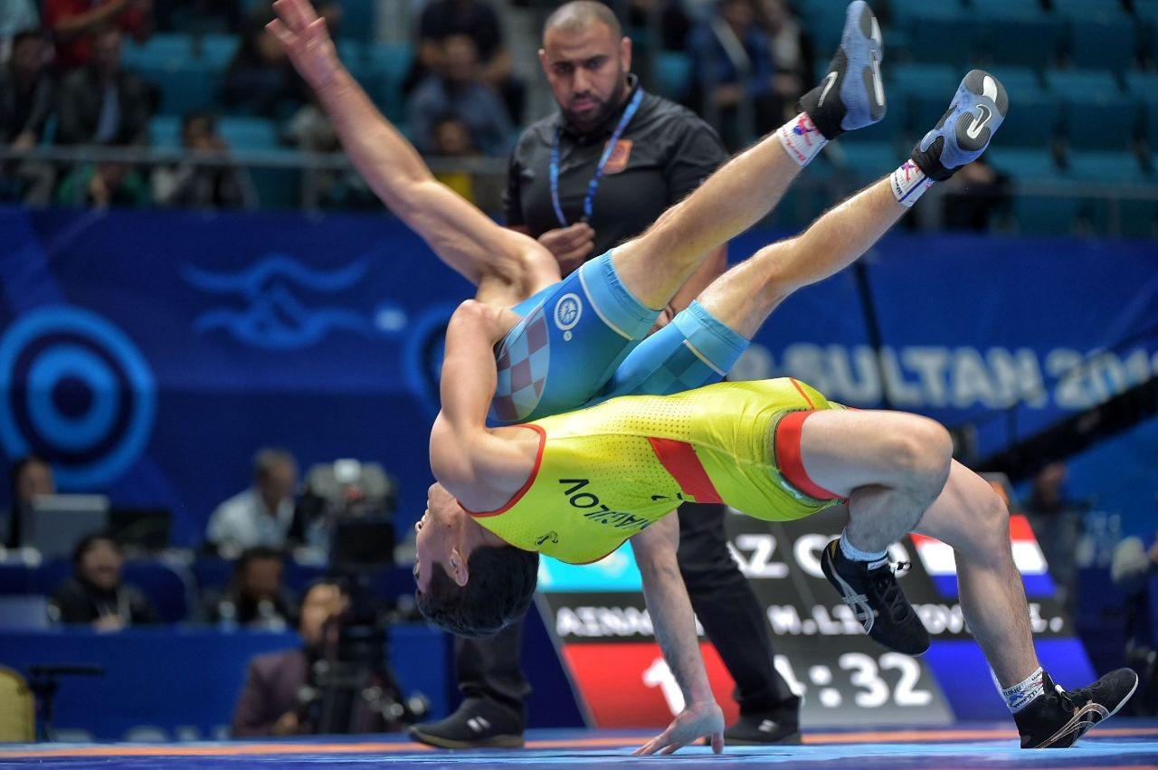 Казахстан примет участие в Кубке мира по греко-римской борьбе