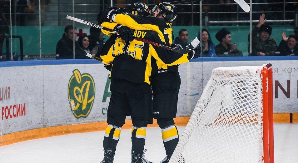 Плей-офф ВХЛ: «Сарыарка» пробилась в полуфинал Кубка Петрова