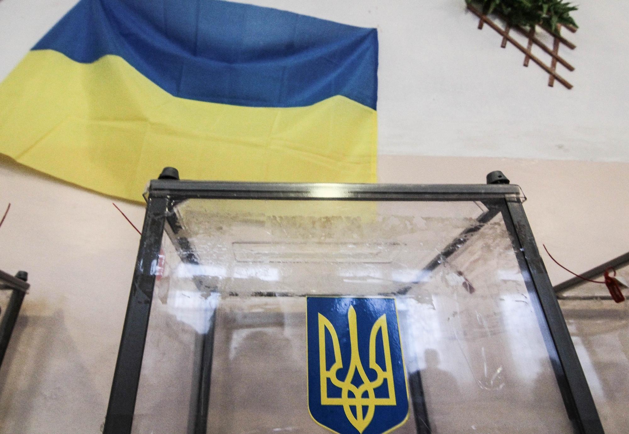 Зеленский набирает 30% голосов на выборах в Украине
