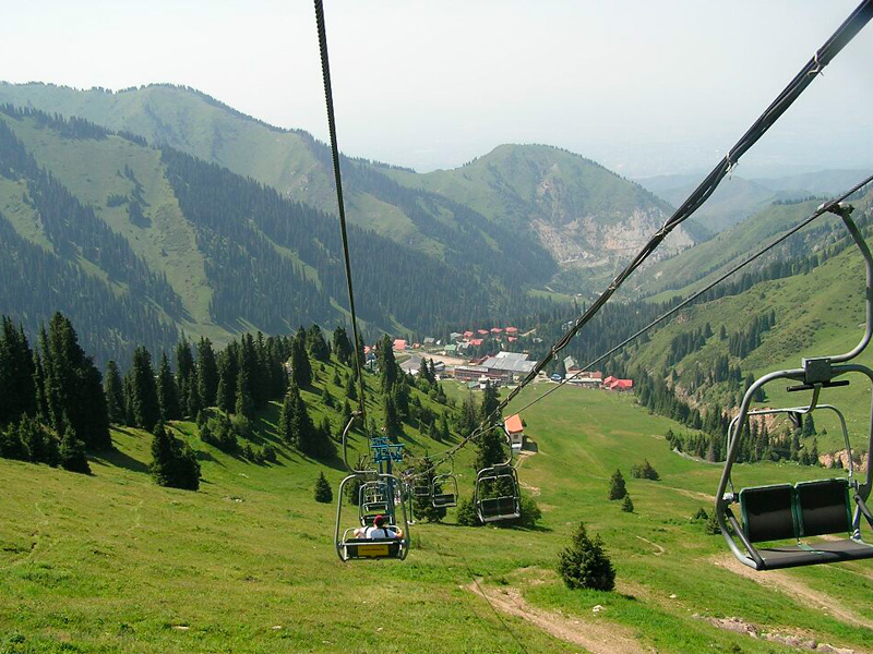 С 25 мая в Алматы заработает курорт «Шымбулак»