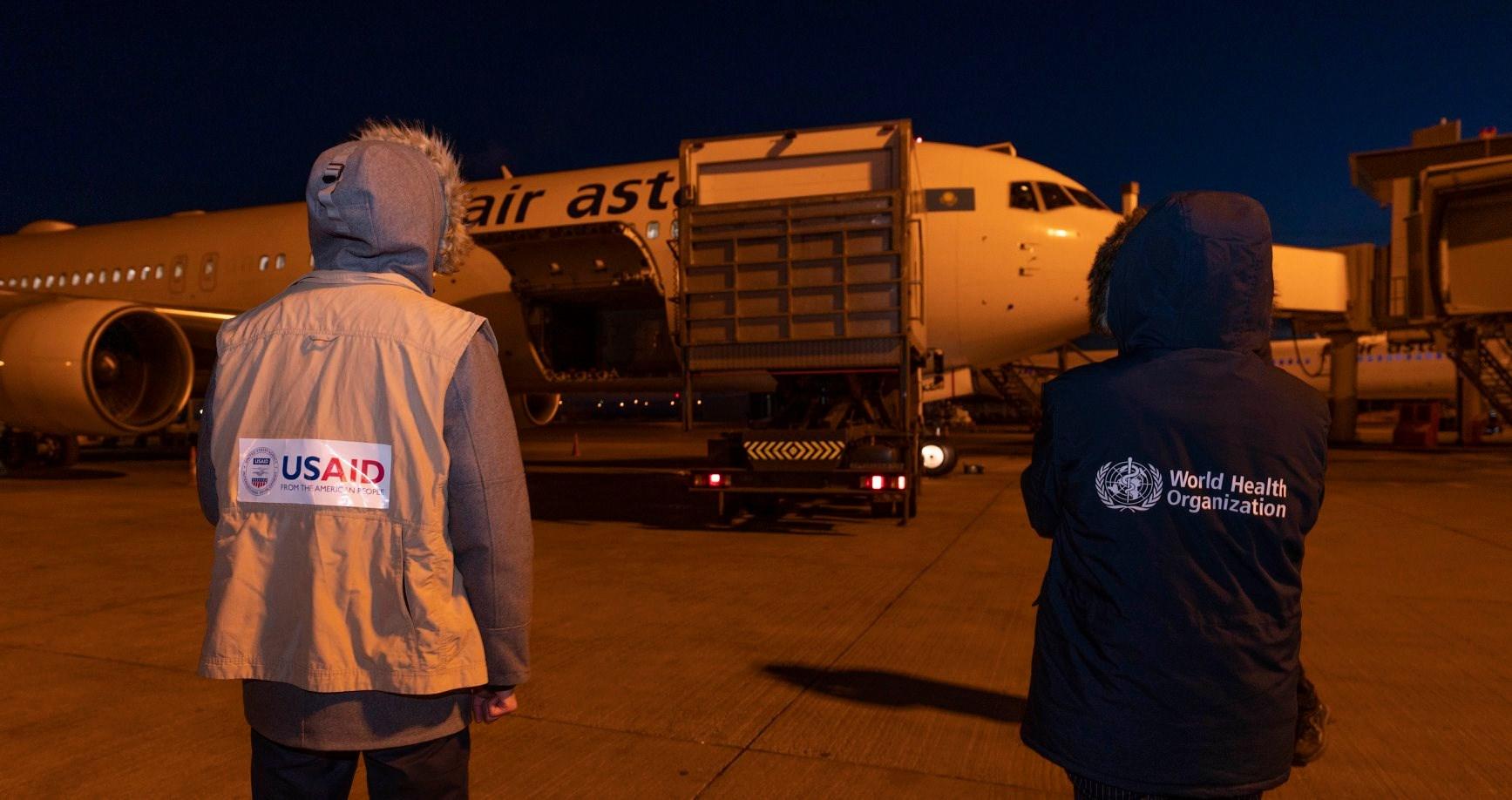 США прислали в РК гуманитарную помощь