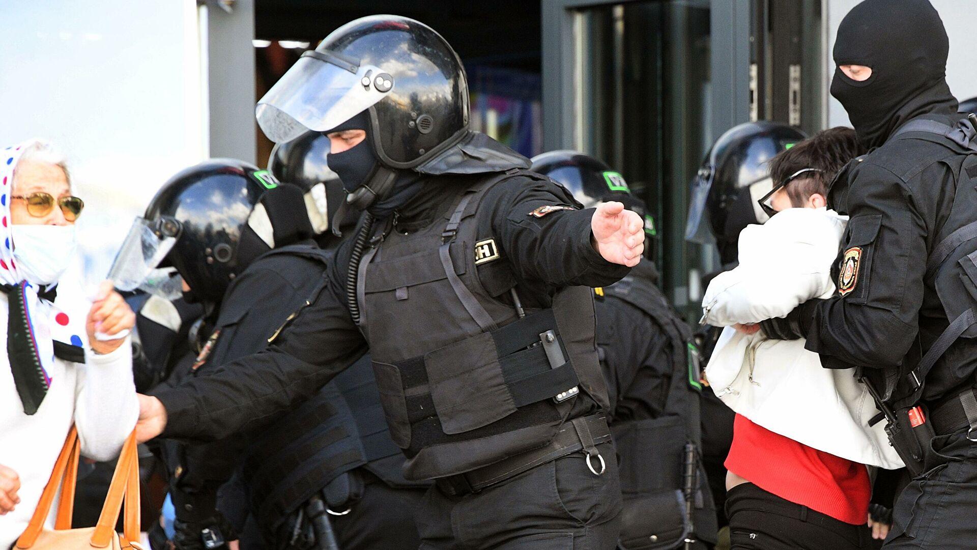 В Минске начались задержания в преддверии несанкционированной оппозиционной акции
