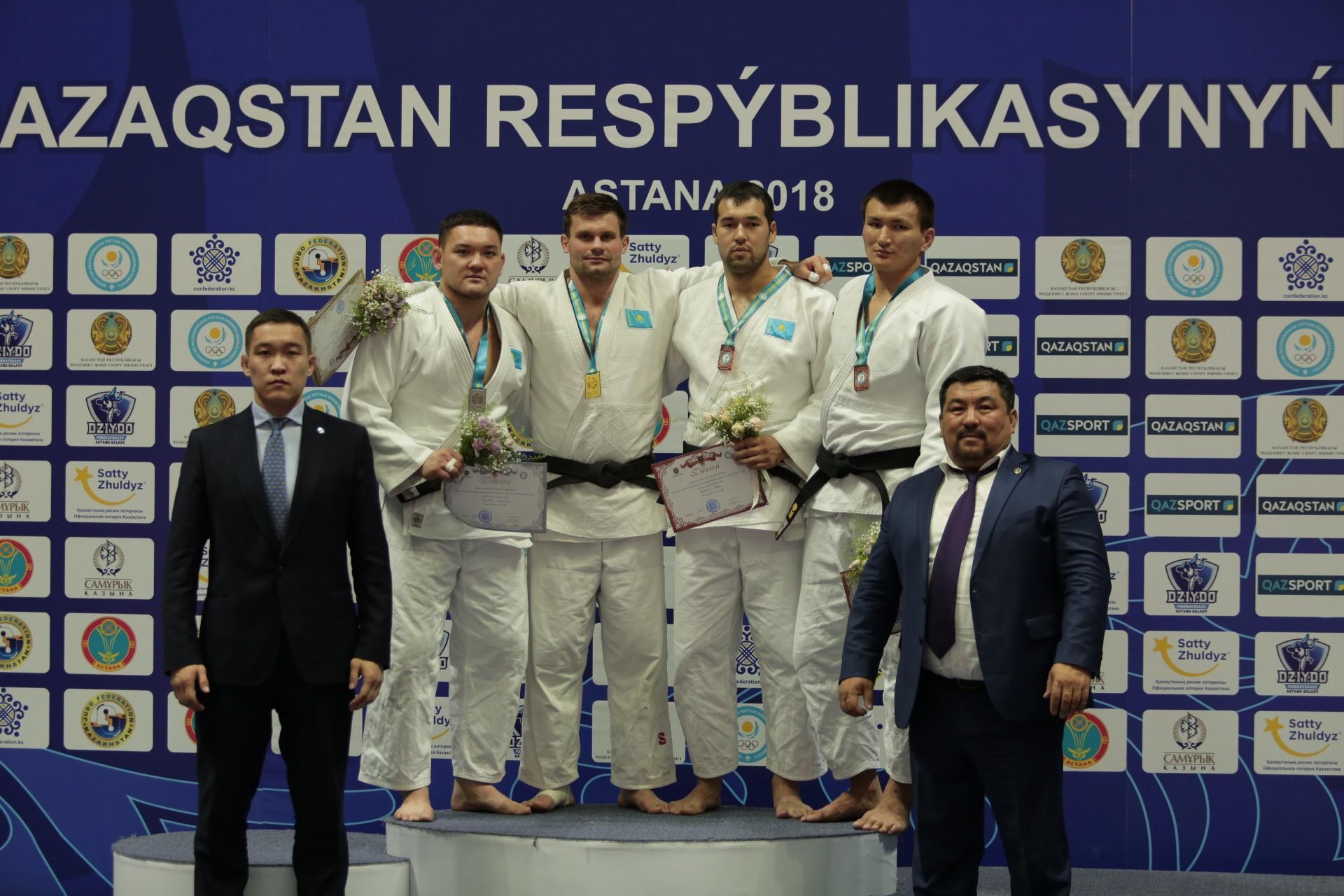 В Астане завершился чемпионат Казахстана по дзюдо