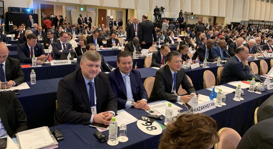 Тимур Кулибаев принимает участие в работе Генассамблеи АНОК