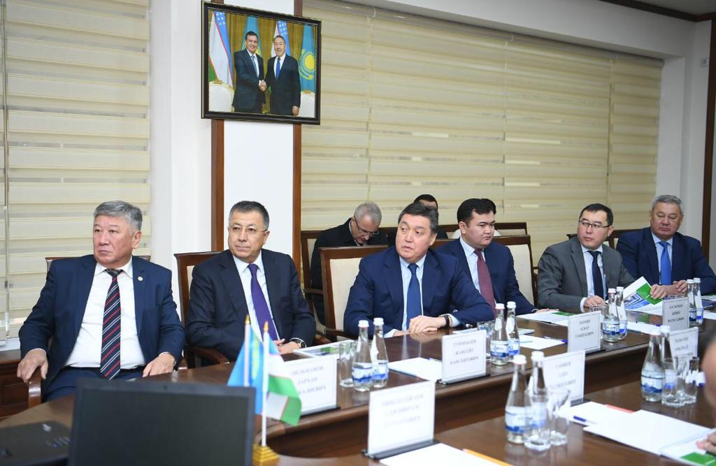 Мамин проверил работу таможенных постов на границе Казахстана и Узбекистана