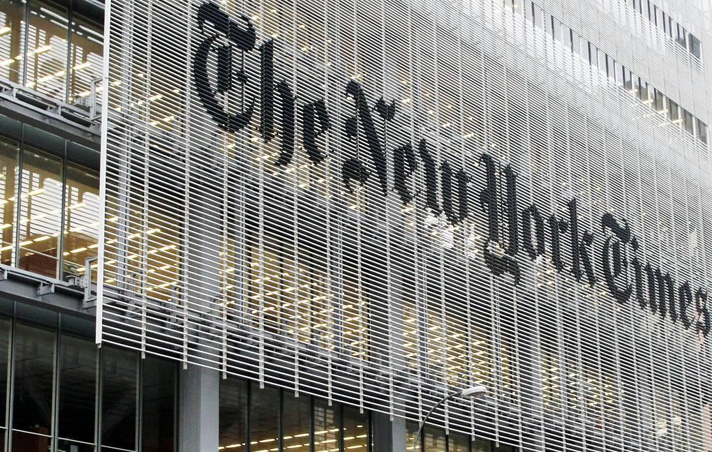 The New York Times посвятила первую полосу тысяче умерших из-за коронавируса