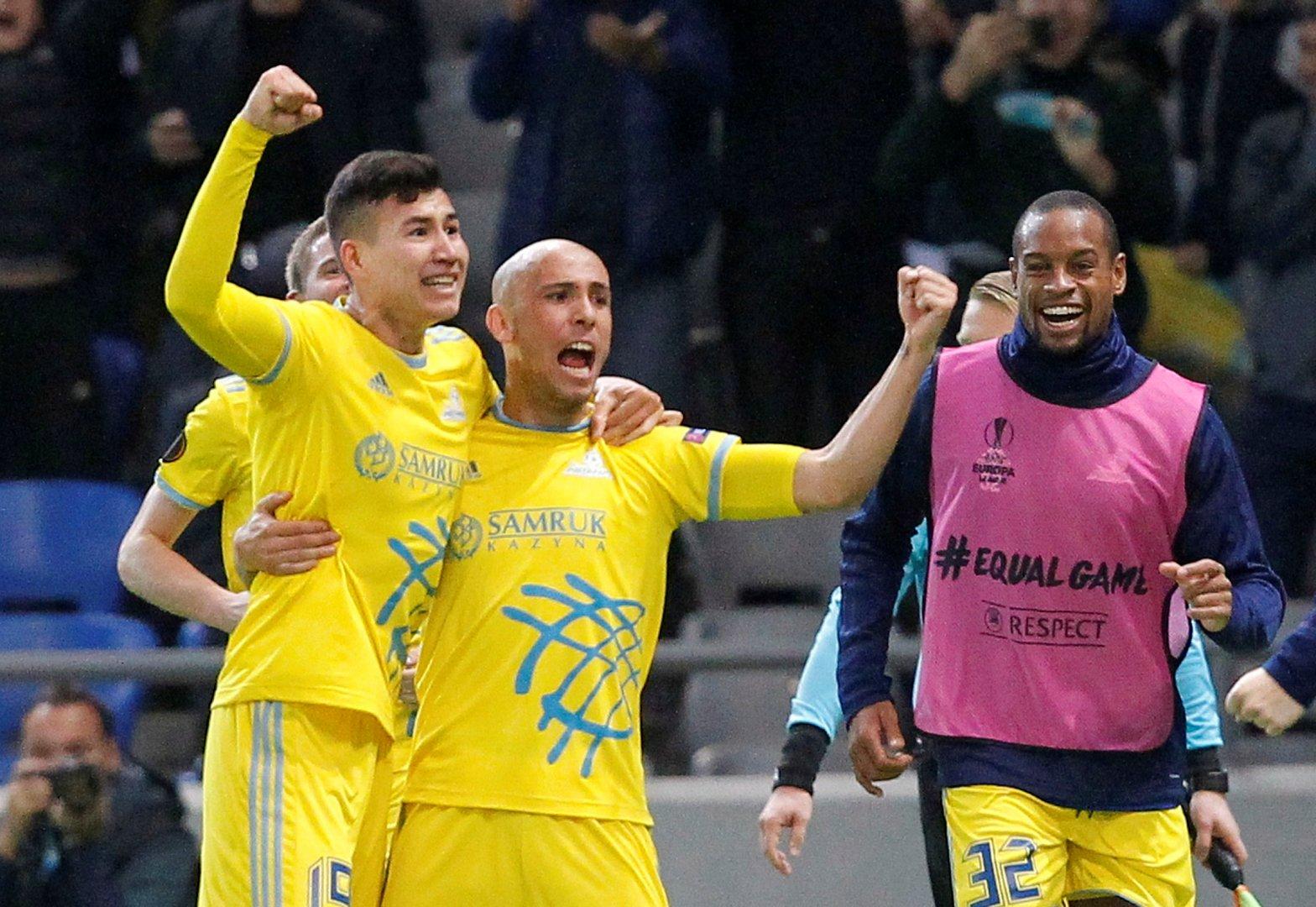 Лига Европы: «Астана» становится лидером группы K
