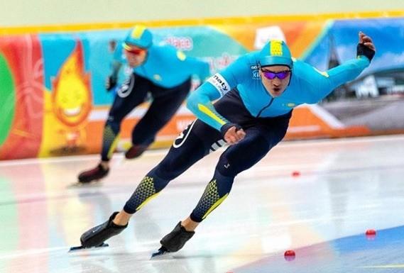 Казахстан вошёл в топ-8 на Кубке мира по конькобежному спорту