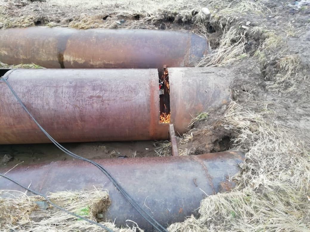 «Новый» водопровод оказался дефектным в ВКО