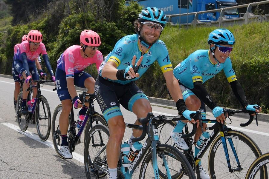 Как «Астана» выступила на восьмом этапе «Джиро д'Италия», велоспорт, Спорт, Astana Pro Team, Мигель Анхель Лопес, Джиро д'Италия-2019