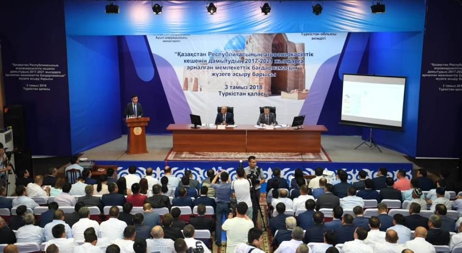 Умирзак Шукеев оценил сельскохозяйственный потенциал Туркестанской области
