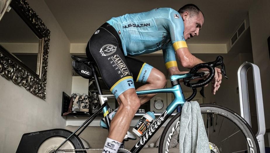 «Астана» вынуждена завершить виртуальный «Тур де Франс» досрочно