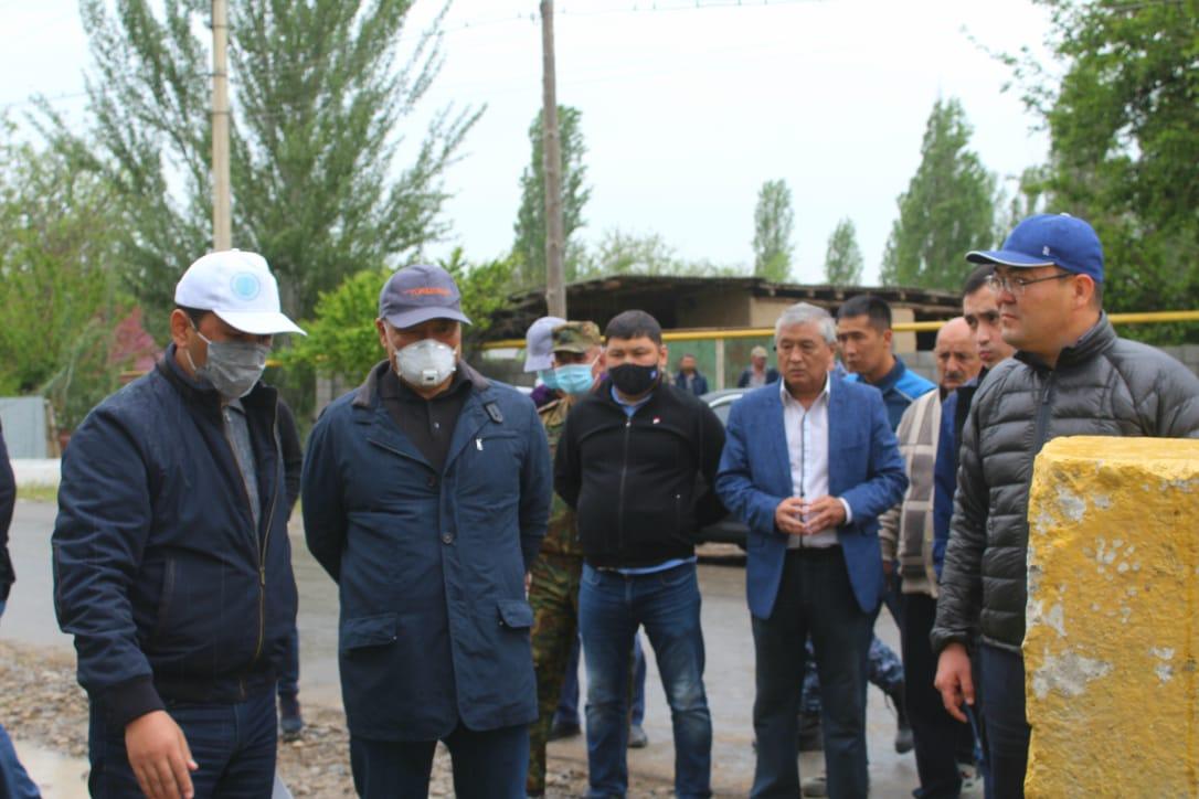 Умирзак Шукеев проконтролировал работы по ликвидации последствий проливных дождей