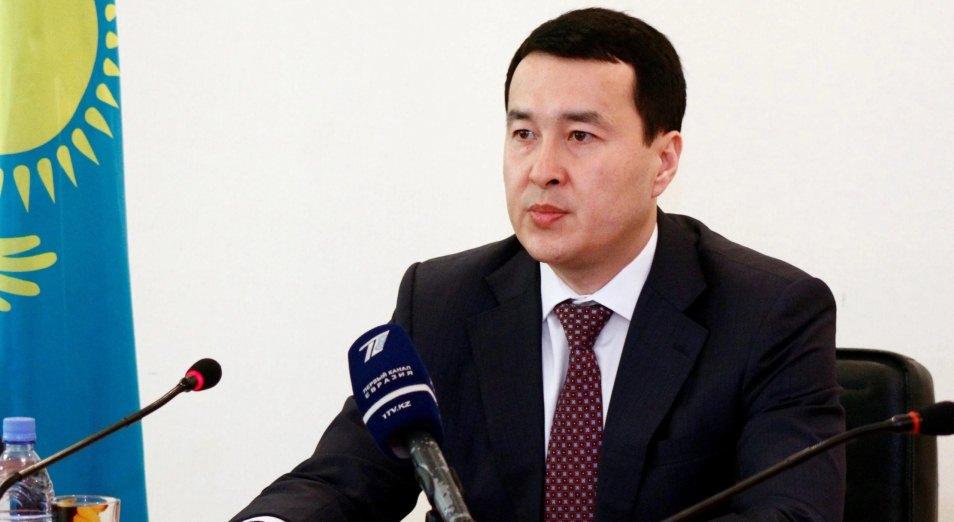 Досье: Смаилов Алихан Асханович,   Алихан Смаилов,  Министр финансов