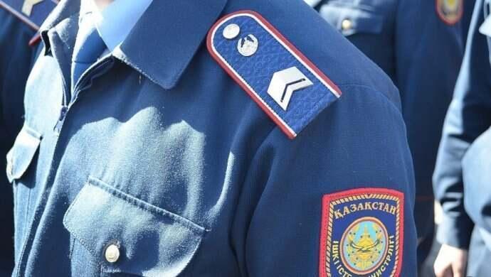 Как полиция Жамбылской области следит за порядком в городе