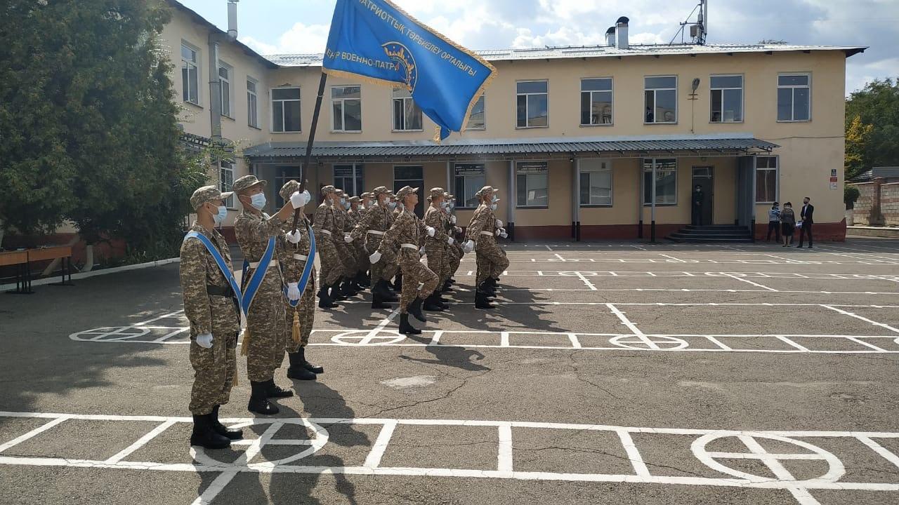 В Алматинском филиале Военно-технической школы минобороны состоялся выпуск курсантов, окончивших трехмесячное обучение