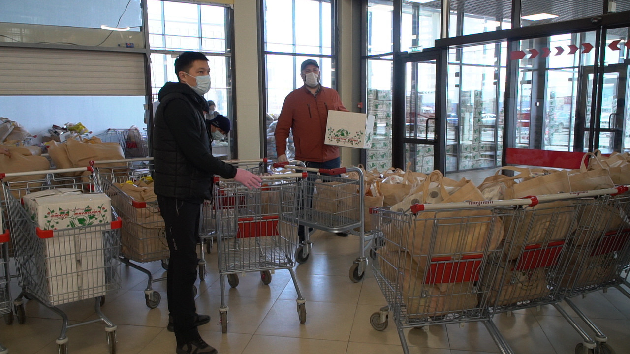 Волонтеры Нур-Султана оказали помощь 4000 семей