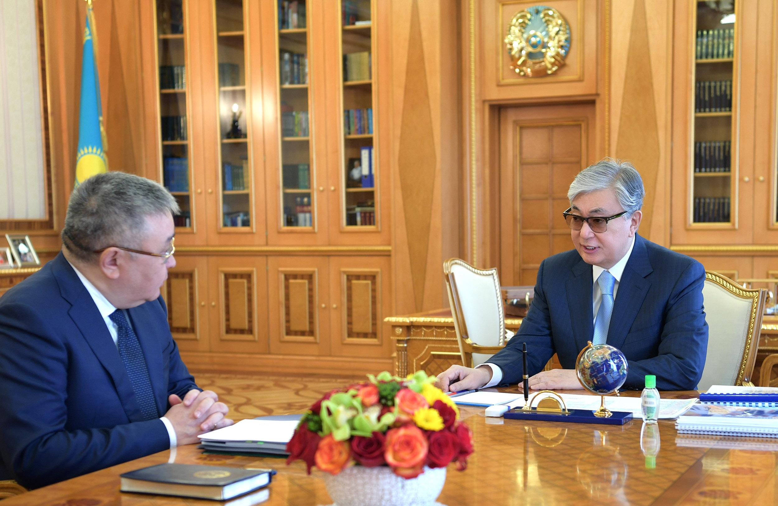 Талгат Донаков сообщил Президенту РК о модернизации системы отбора судей