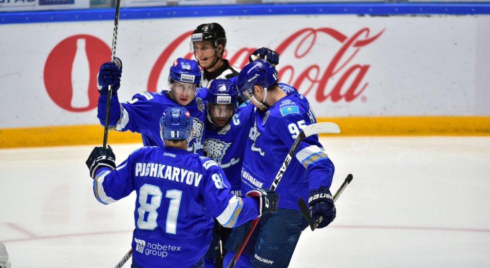 Регулярка КХЛ: «Барыс» вернулся в первую четвёрку «Востока» по потерянным очкам