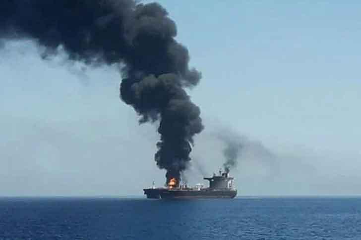 Саудовская Аравия получила сигнал бедствия с иранского танкера в Красном море