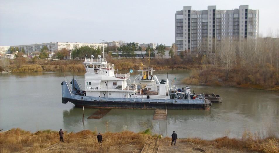 Павлодар рассчитывает увеличить портовую мощность, Павлодарский речной порт, Павлодар, Иртыш, Порт, Перевозки