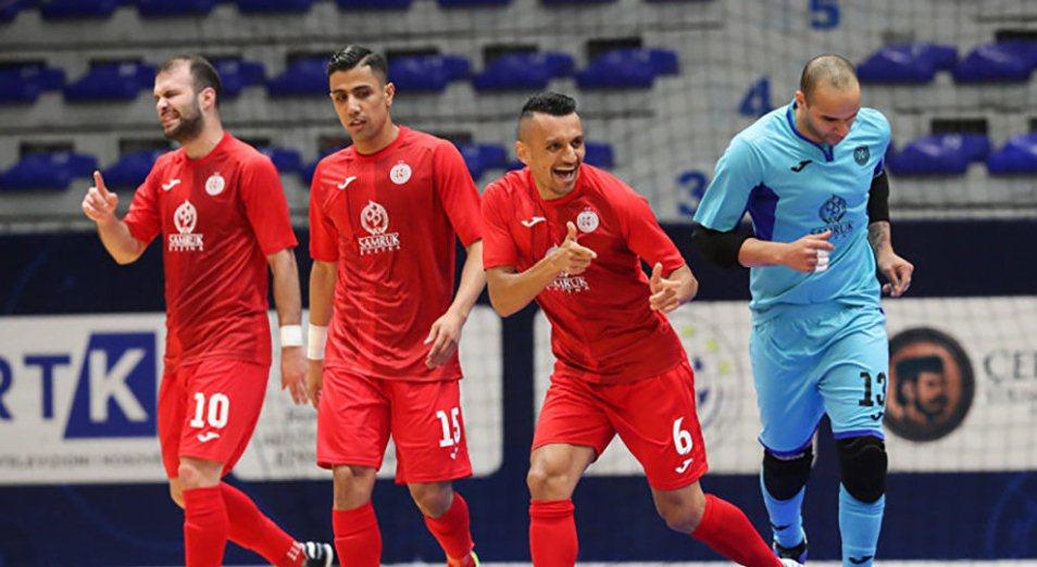 Лига чемпионов: «Кайрат» вышел в единоличные лидеры группы D, футзал , Спорт, Кайрат, Лига чемпионов