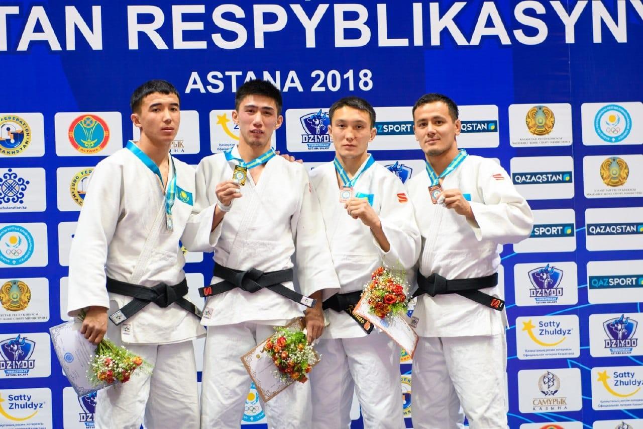 Чемпионат Казахстана по дзюдо: первые результаты
