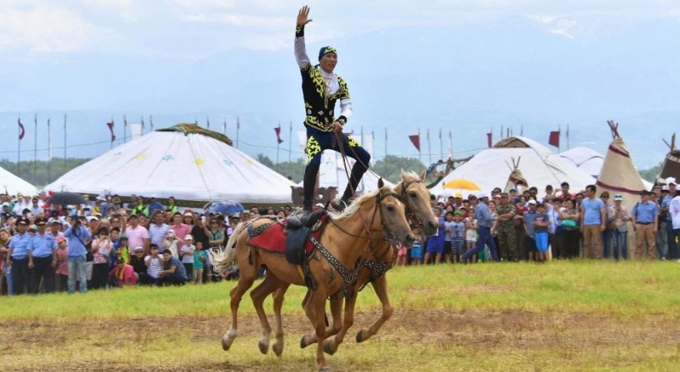 Фестиваль национальных видов спорта стартовал в Астане, Астана, Спорт, национальные виды спорта, Фестиваль, Ұлы Дала рухы
