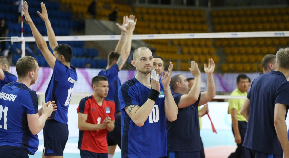 Казахстан стартовал в Challenger Cup с поражения, Challenger Cup, Волейбол, Спорт