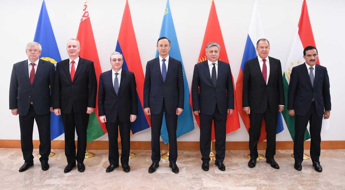 Главы МИД ОДКБ провели встречу на полях заседания Генассамблеи ООН