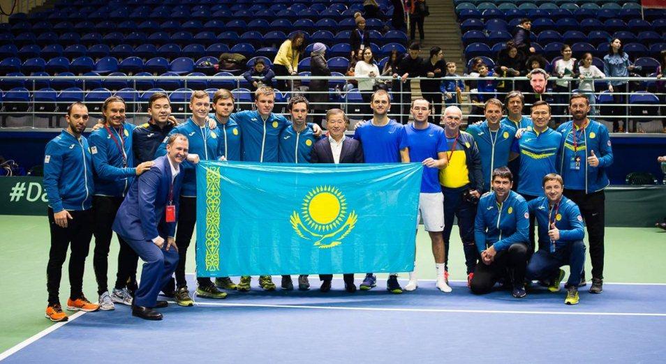 Davis Cup: четвертьфинал у Казахстана откроет Попко, Davis Cup, Кубок Дэвиса , Теннис, Казахстан, Хорватия