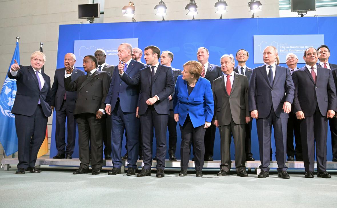 Главы МИД ЕС рассмотрят выполнение мер по Ливии, принятых в Берлине