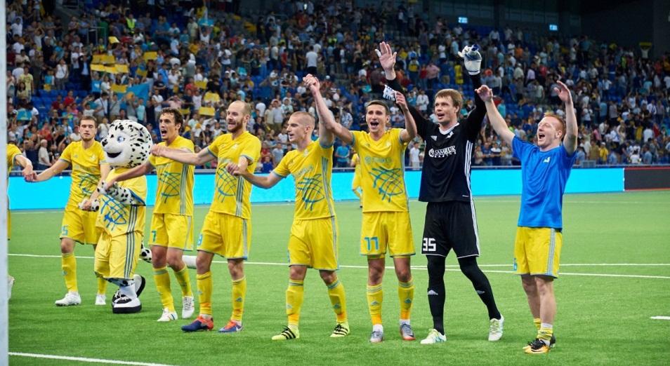 «Астана» в Хернинге: нужный исход на классе и спокойствии, Астана, футбол, Лига чемпионов, Роман Григорчук