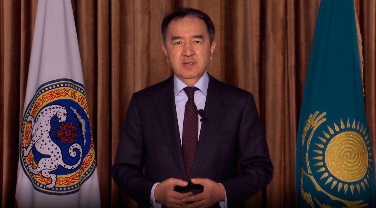 Аким Алматы обратился к горожанам