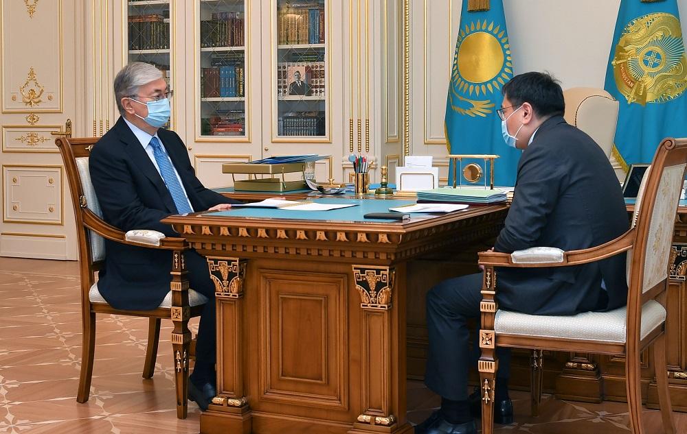 Глава Нацбанка доложил Касым-Жомарту Токаеву о подходах к восстановлению экономического роста