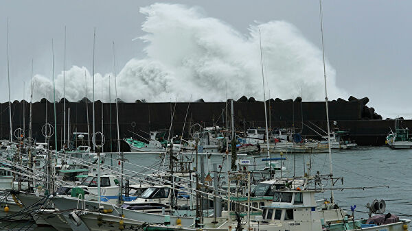 "Тайфун ""Хагибис"" достиг главного японского острова Хонсю"
