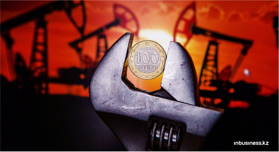 Упавшая нефть утянула за собой тенге