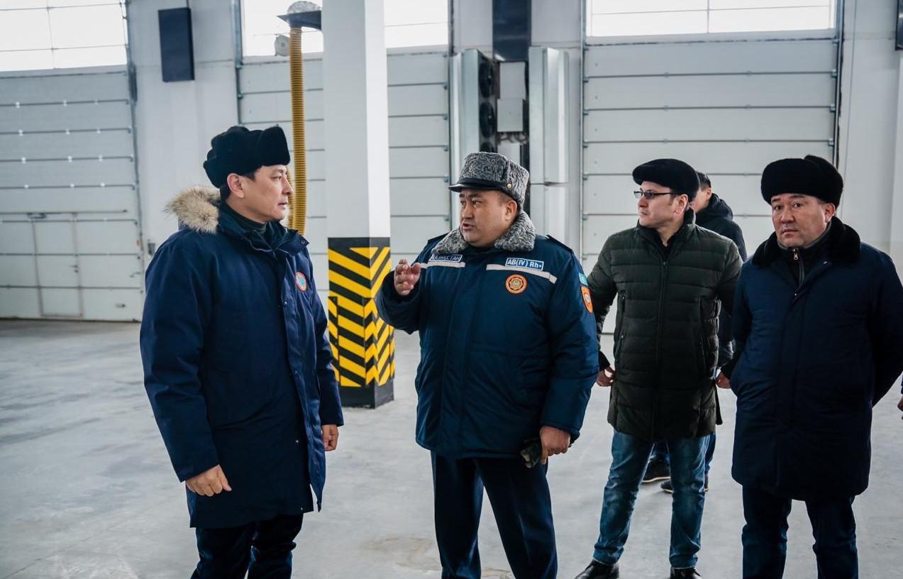 В районе Байконур столицы откроют пожарное депо