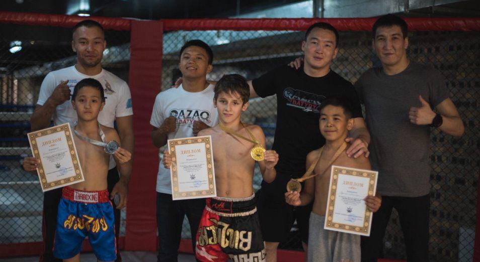 Открытый турнир Qazaq Batyry MMA Kids провели в Астане