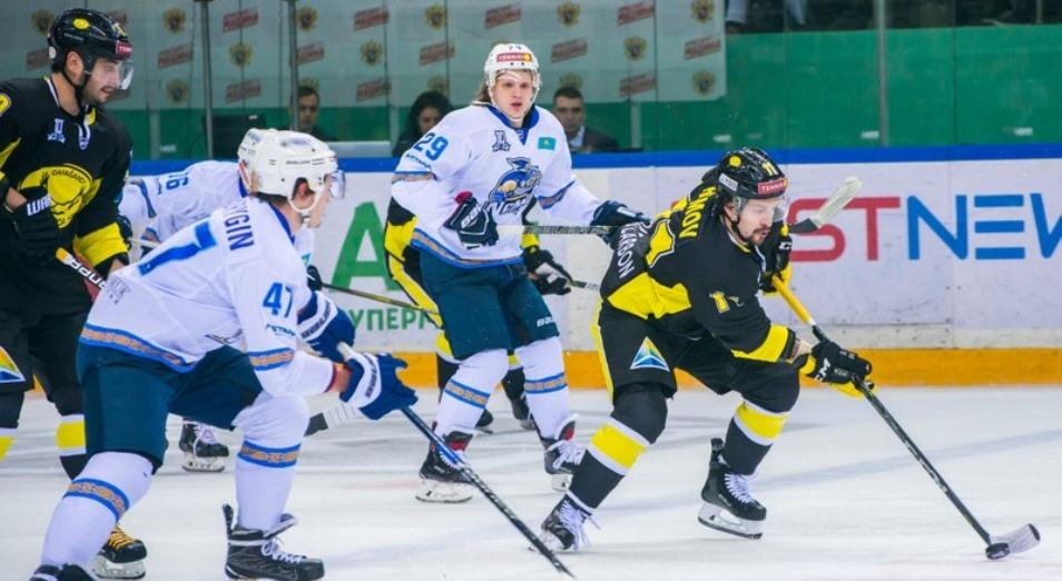 Регулярка ВХЛ: «Сарыарка» выиграла дерби у «Номада»