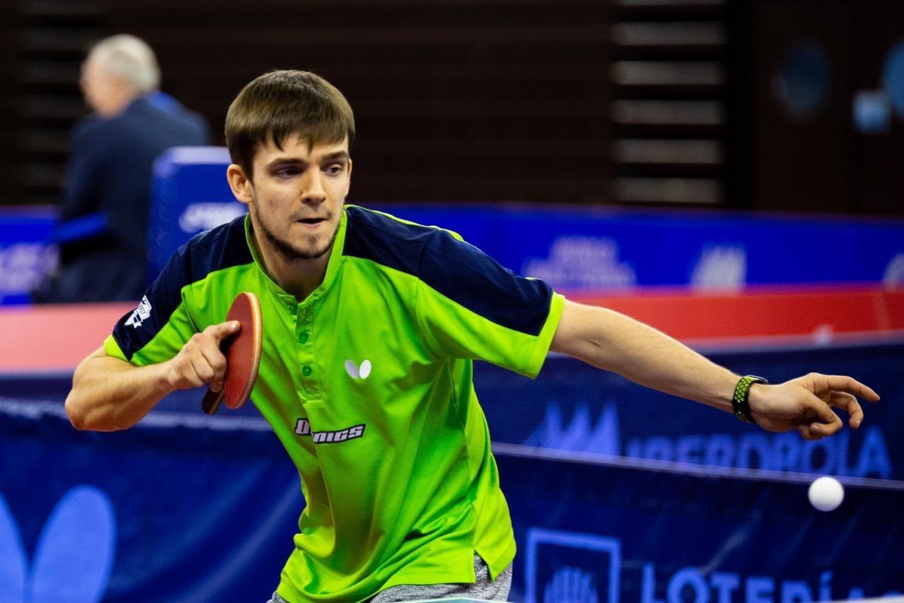 Команда Кирилла Герасименко одержала победу в немецкой Бундеслиге по настольному теннису